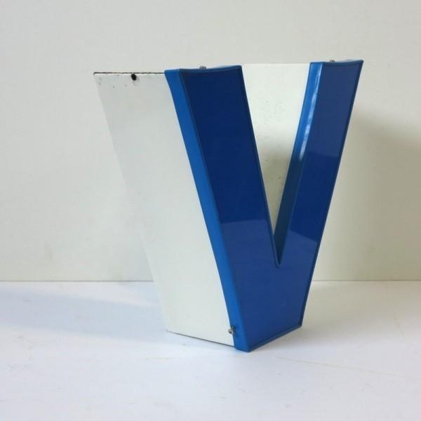 Big vintage sign letter - V...