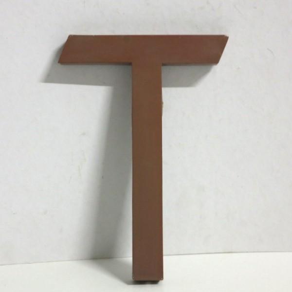 Vintage sign letter - T -...