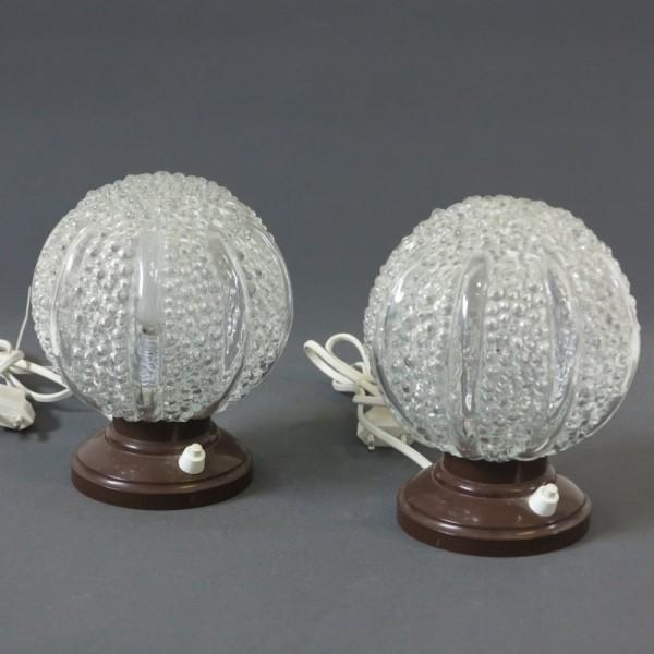 Dos lámparas vintage de...