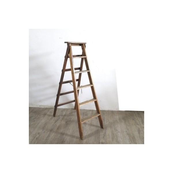 Industrial wooden ladder....