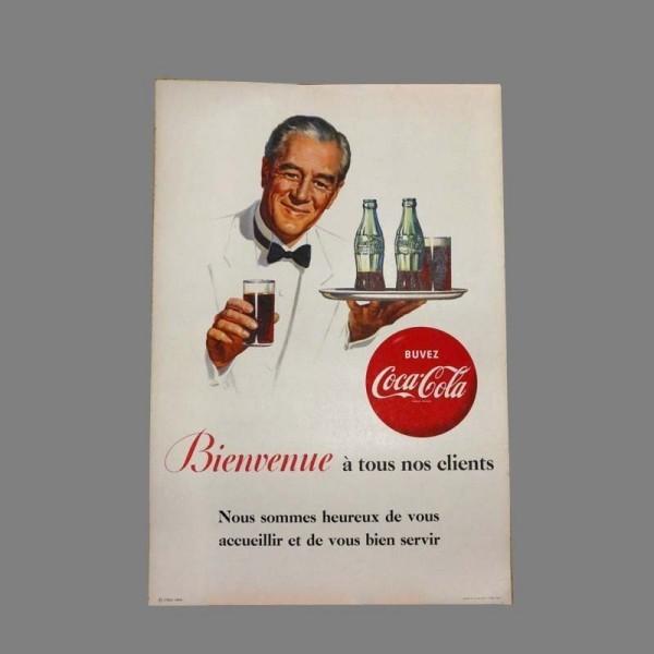 Cartel de Coca Cola. 1950 -...