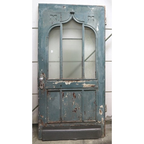 Art Nouveau front door....