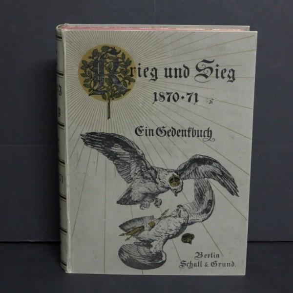 Buch: Krieg & Sieg 1870 - 1871
