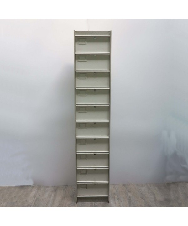 Industrial cabinet of metal. 1960 - 1969