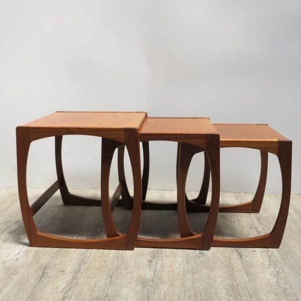 Drei Design Tische aus...
