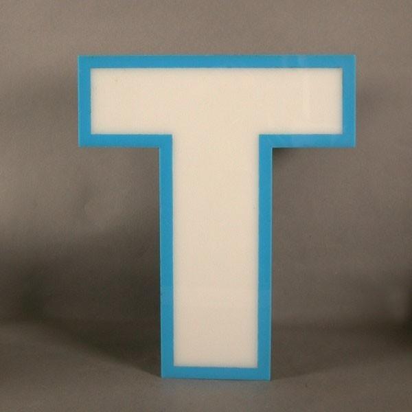Big vintage sign letter - T...