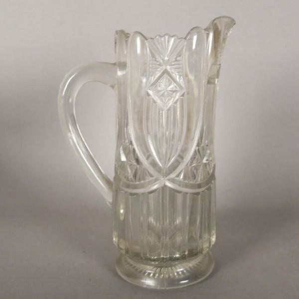 Art Nouveau crystal jug....
