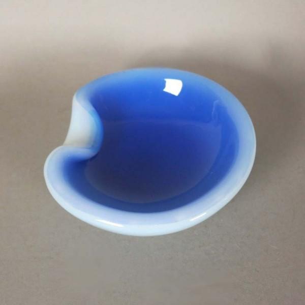 Blau weiße Seguso Murano...