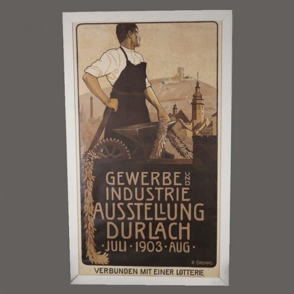 Plakat Gewerbe & Industrie...